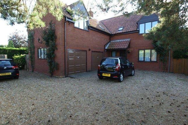 Thumbnail Detached house to rent in Weston Longville, Norwich