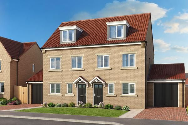 "Thumbnail Property for sale in ""The Sycamore At High Farm"" at Off Trunk Road, Normanby, Middlesbrough"