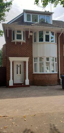 Thumbnail Semi-detached house to rent in Pendragon Road, Birmingham