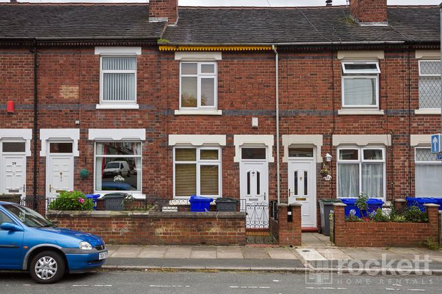 Thumbnail Terraced house to rent in Woodgate Street, Meir, Stoke On Trent, Staffordshire