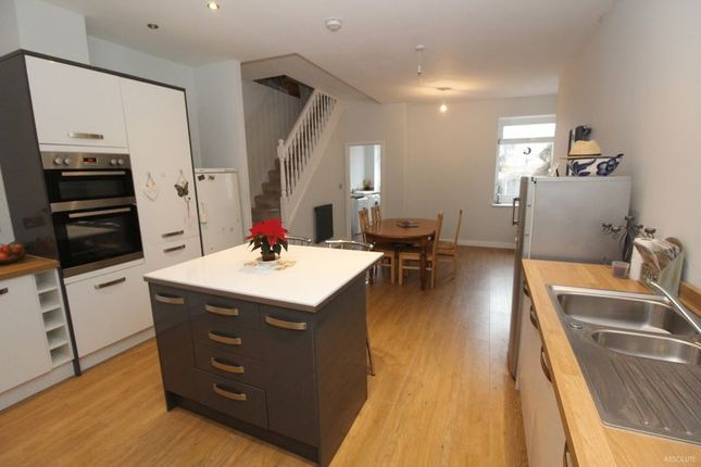 Thumbnail Terraced house for sale in Shirburn Road, Torquay