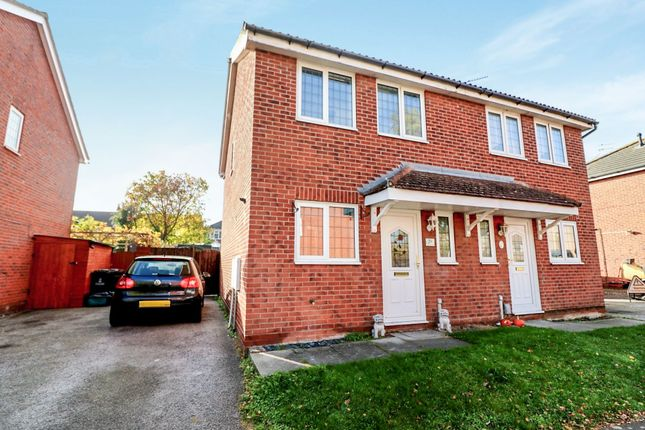 Thumbnail Semi-detached house for sale in Flanders Field, Colchester