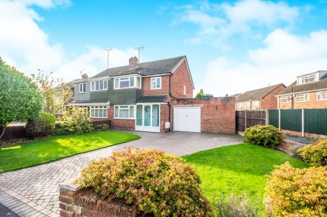 Thumbnail Semi-detached house for sale in Balmoral Drive, Willenhall, West Midlands