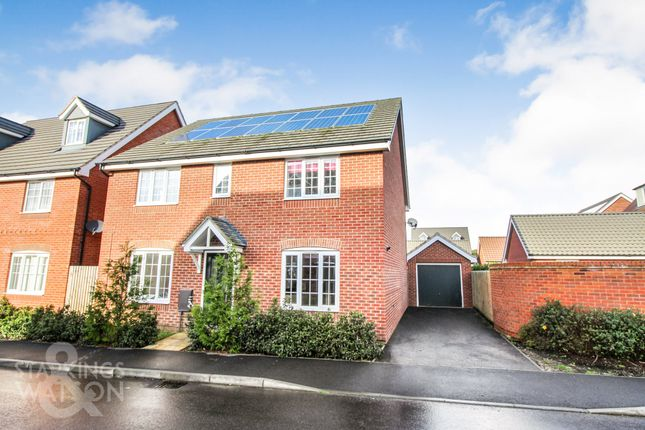 4 bed detached house to rent in Colossus Way, Hampden View, Costessey NR5