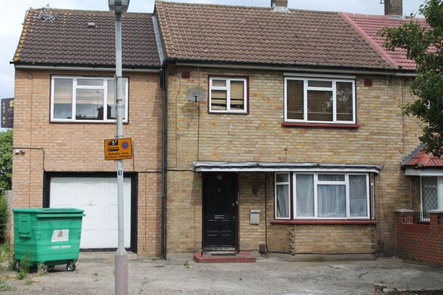 Thumbnail End terrace house to rent in Chatsworth Road, Yeading