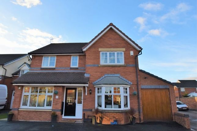 Thumbnail Detached house for sale in Huskisson Way, Newton-Le-Willows
