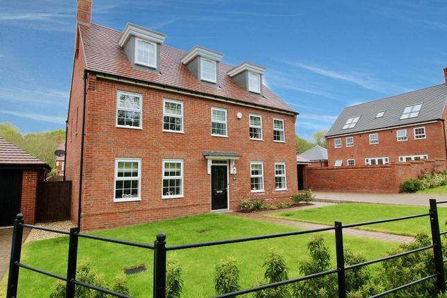 Thumbnail Detached house for sale in Josiah Drive, Barlaston, Stoke