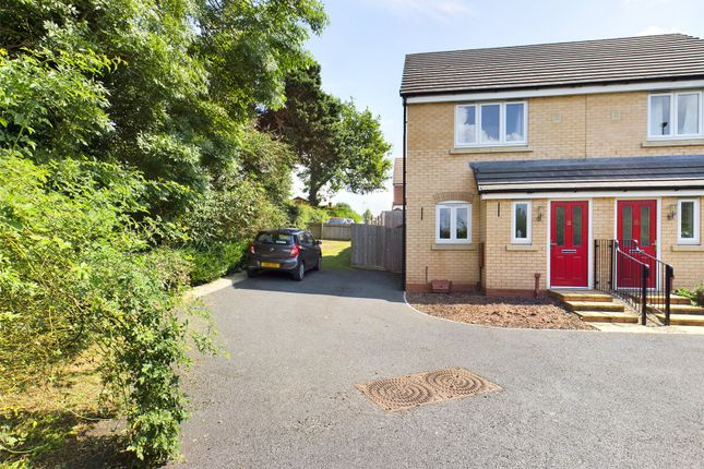 Thumbnail Semi-detached house for sale in Old Tannery Way, Ross-On-Wye, Herefordshire