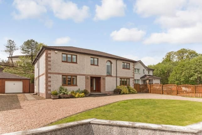 Thumbnail Detached house for sale in Montgomery Avenue, Beith, North Ayrshire, .