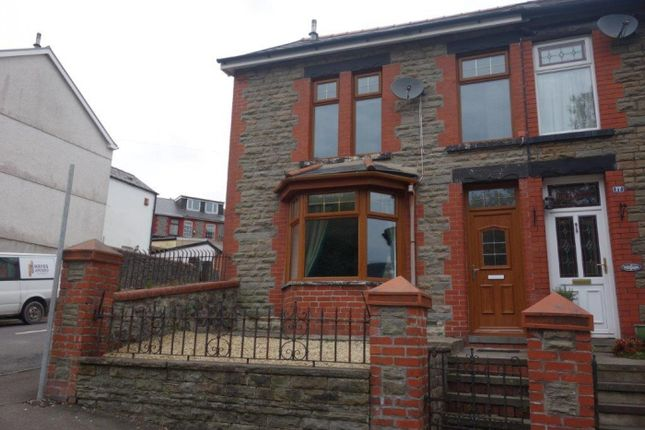 Thumbnail End terrace house to rent in Conway Road, Treorchy