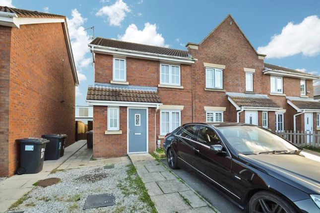 Thumbnail End terrace house to rent in Acasta Way, Hull
