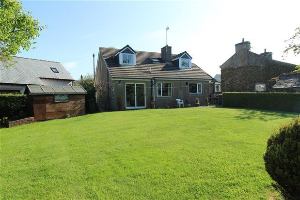Thumbnail Bungalow for sale in Croftlands, Main Street, Carnforth