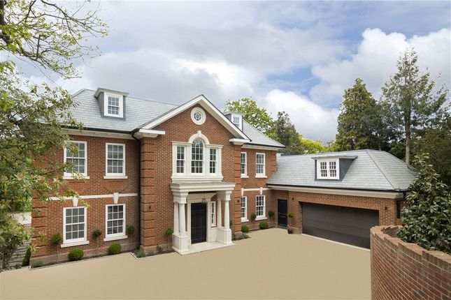 Thumbnail Detached house for sale in Coombe Hill Road, Coombe Hill