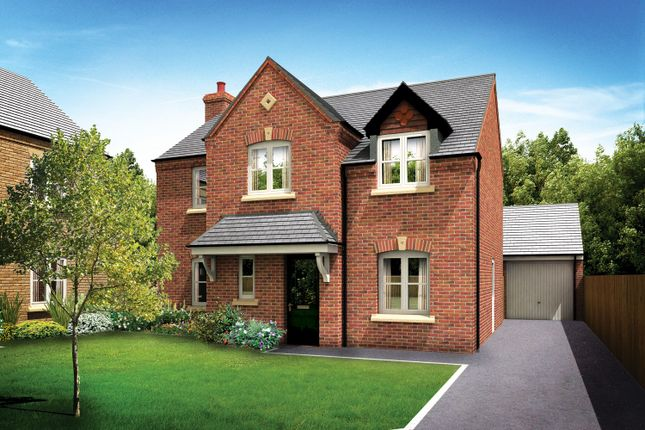 Thumbnail Detached house for sale in Norton Rise, Main Road, Austrey