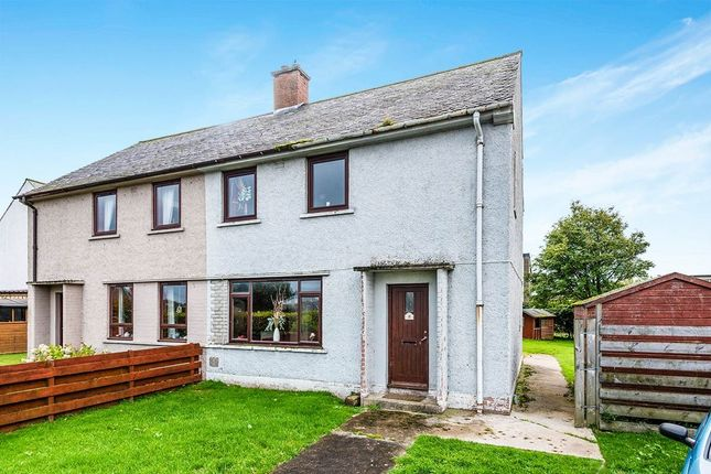 Thumbnail Semi-detached house for sale in Carrol Crescent, Brora