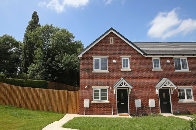 3 bed semi-detached house for sale in The Glazebrook, Shaw Close Off Bromley Road, Congleton, Staffordshire