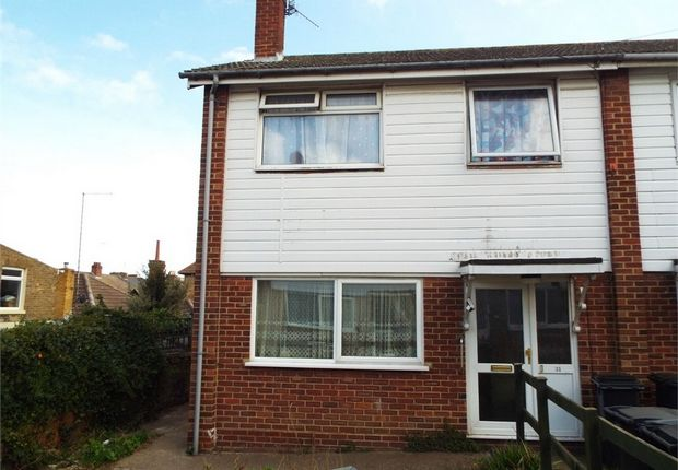 Thumbnail Semi-detached house for sale in Alma Road, Ramsgate