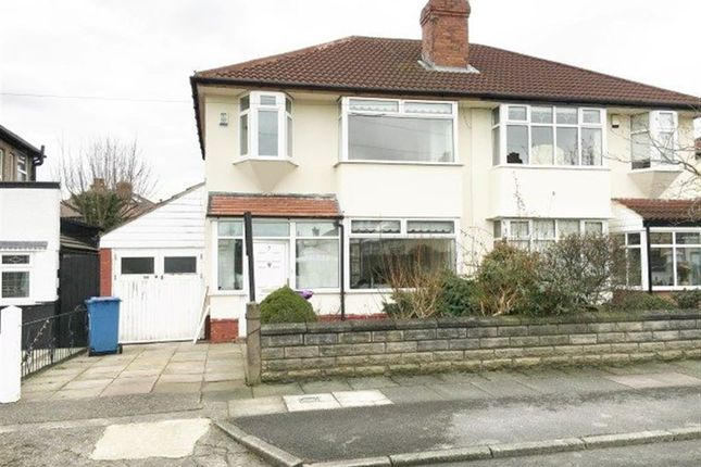 Thumbnail Property to rent in Eaton Gardens, West Derby, Liverpool