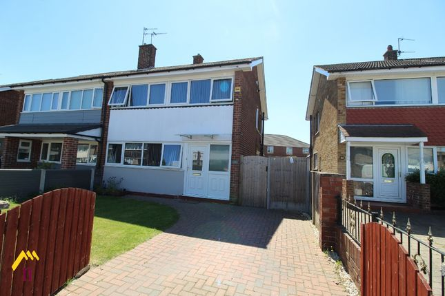 Thumbnail Semi-detached house for sale in Mercel Avenue, Armthorpe, Doncaster