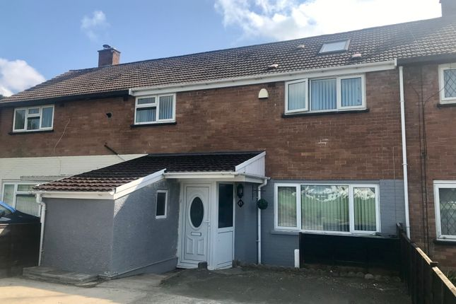 Thumbnail 3 bed terraced house for sale in Pepys Crescent, Llanrumney, Cardiff