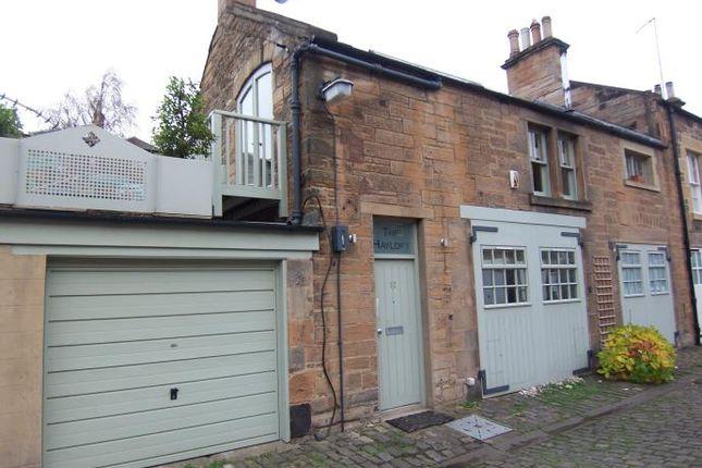 Thumbnail Mews house to rent in Belgrave Crescent Lane, Edinburgh
