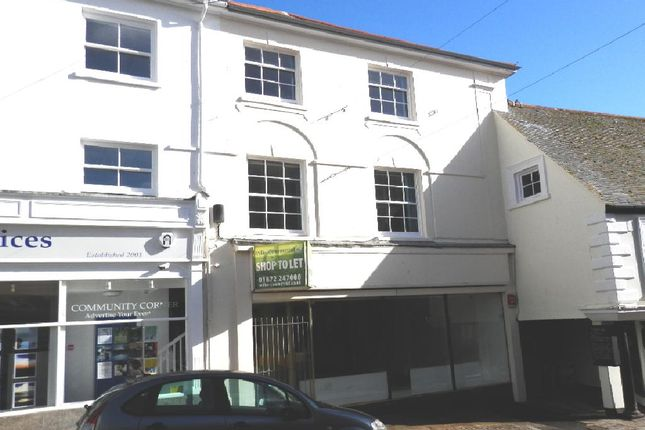 Thumbnail Town house to rent in Market Place, Penzance