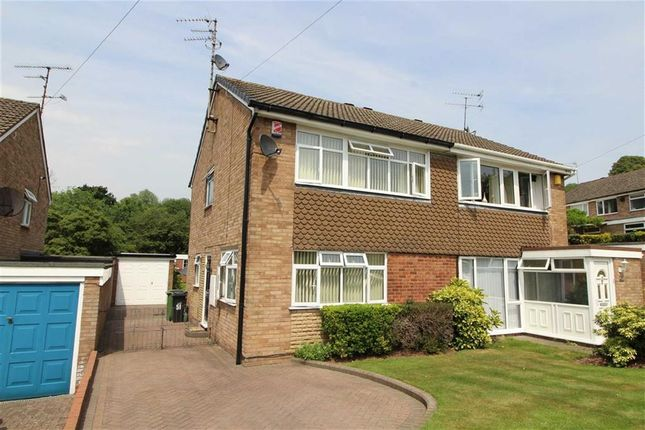 Thumbnail Semi-detached house for sale in Eversley Grove, Northway, Sedgley