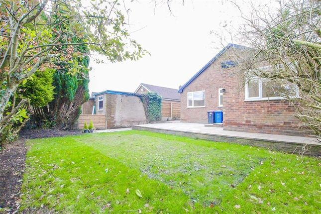 Thumbnail Detached bungalow for sale in Parr Fold Avenue, Worsley, Manchester