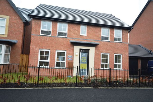 Thumbnail Detached house for sale in Rees Way, Lawley Village, Telford