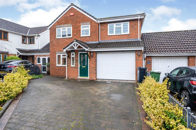 Thumbnail Detached house for sale in Hawkins Close, North Common, Bristol