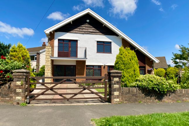 Thumbnail Detached house for sale in Withy Park, Bishopston, Swansea