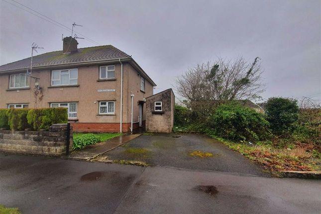 Thumbnail Flat for sale in Broadoak Court, Loughor, Swansea