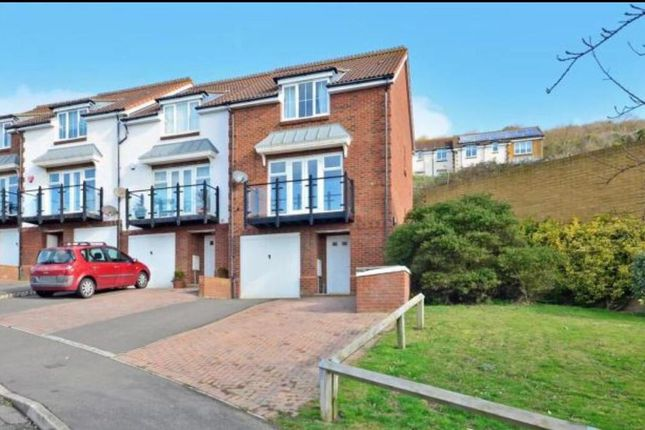 Thumbnail End terrace house to rent in Battery Point, Hythe