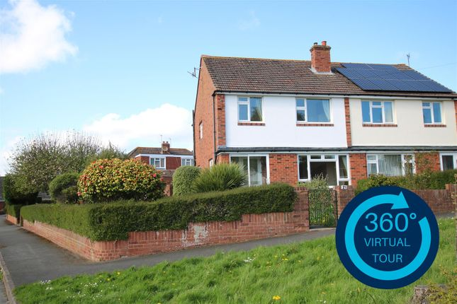 3 bed semi-detached house to rent in Cowley, Exeter, Devon EX4