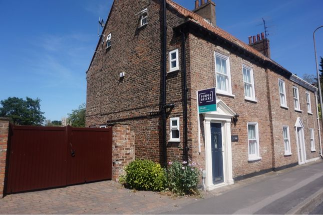 Thumbnail Semi-detached house to rent in Newgate Street, Cottingham