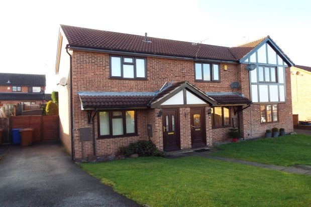 Thumbnail Property to rent in Kestrel Close, Uttoxeter