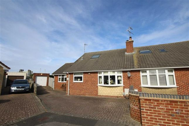 Thumbnail Semi-detached bungalow for sale in Ashbury Avenue, Nythe, Swindon