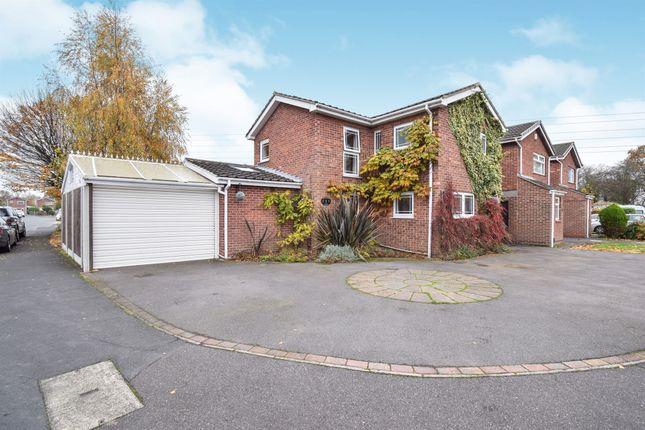 Thumbnail Detached house for sale in Alderfen Close, Shelton Lock, Derby