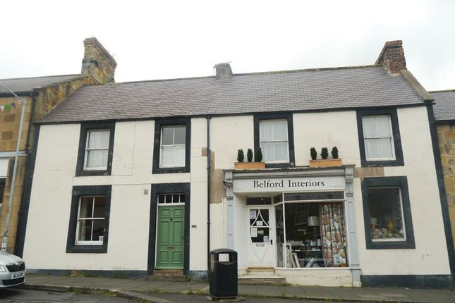 Thumbnail Terraced house for sale in High Street, Belford