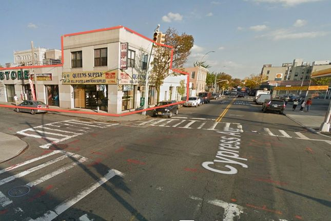 Thumbnail Land for sale in 9-51 Cypress Ave, Flushing, Ny 11385, Usa
