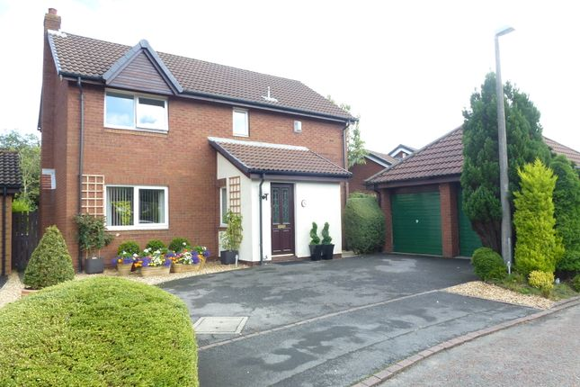 Thumbnail Detached house for sale in Spring Meadow, Clayton Le Woods