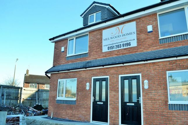 Thumbnail End terrace house to rent in Carr Lane East, West Derby, Liverpool