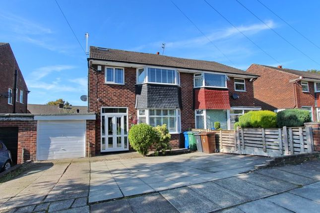 Front of Harlech Avenue, Whitefield, Manchester M45