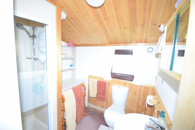 Shower Room of Kingfisher Glade, Plas Dolguog, Machynlleth, Powys SY20