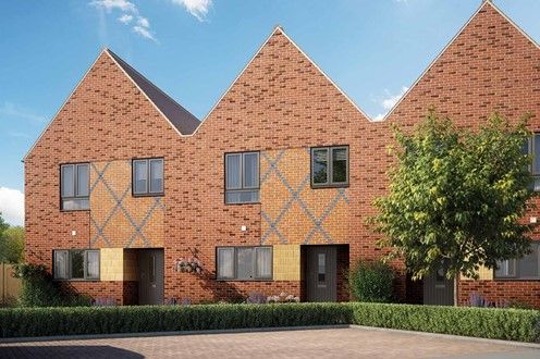 Thumbnail End terrace house for sale in Pilots View, Chatham, Kent
