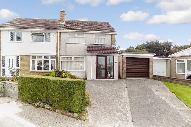 Thumbnail Semi-detached house for sale in Tyle Glas, North Cornelly, Bridgend.