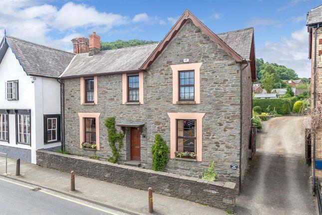 Thumbnail Semi-detached house for sale in Ffrydd House, Bridge Street, Knighton