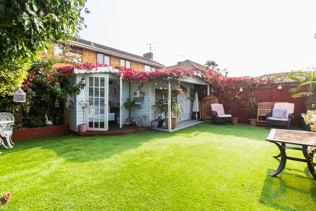 Garden of Maurice Road, Canvey Island SS8