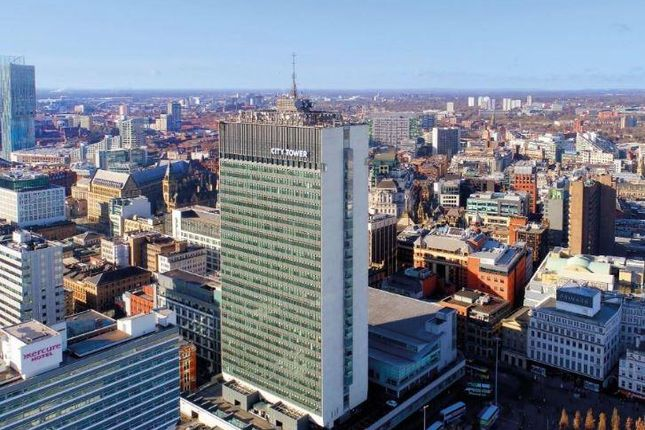 Office to let in City Tower, Piccadilly Plaza, Manchester