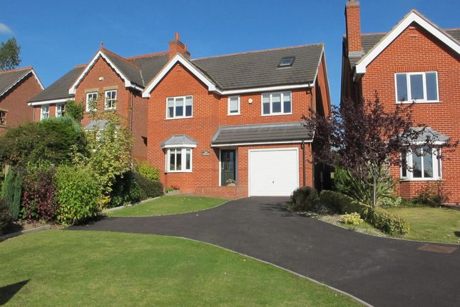Thumbnail Detached house for sale in Burton Road, Annswell, Ashby-De-La-Zouch